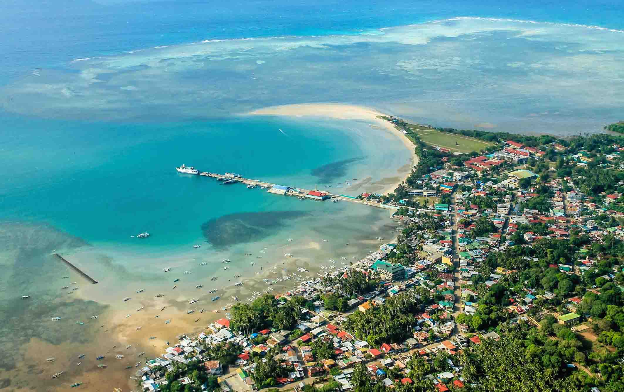 Cuyo Town and Capusan Beach Sandbar